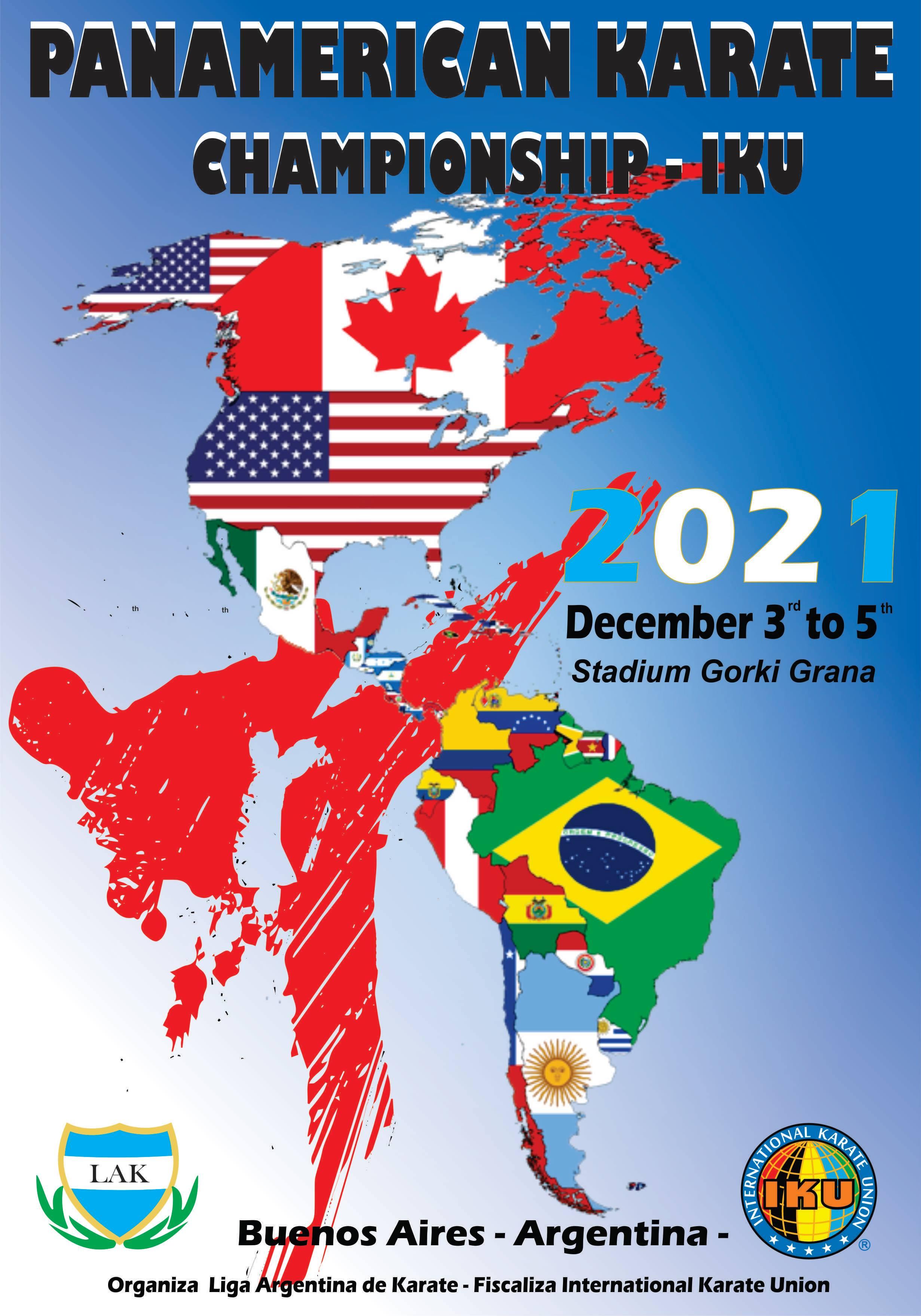 IKU Panamerican Championship 2021