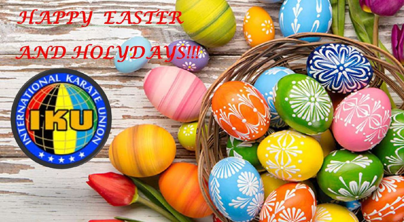 HAPPY EASTER AND HAPPY HOLYDAYS!