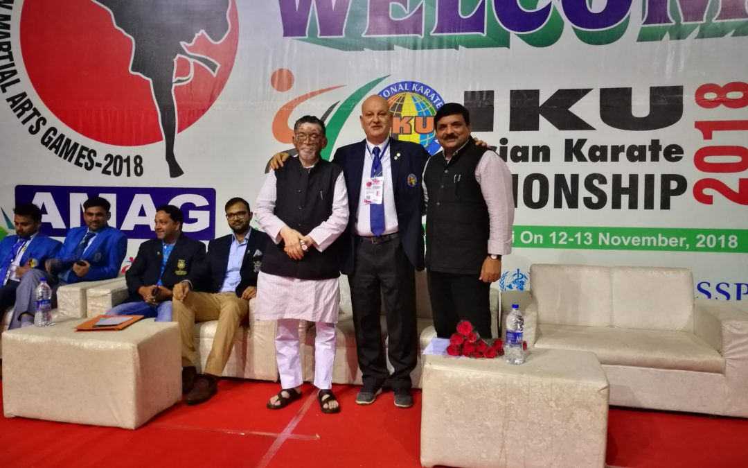 IKU ASIAN CHAMPIONSHIP IN NEW DELHI  :    GOOD SECOND….. EDITION  !!